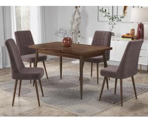 Кухненски комплект Салерно маса с четири стола