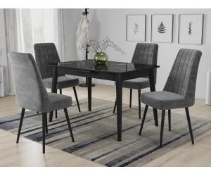 Кухненски комплект Силия маса с четири стола