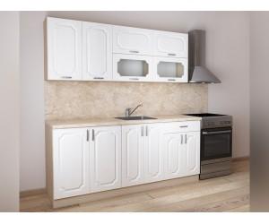Модулна готова кухня Донна 2 200 см. Снежен дъб/Дъб сонома