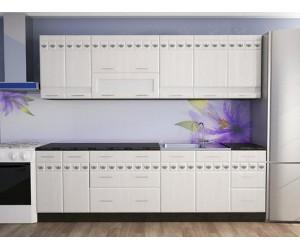 Модулна готова кухня Орхидея МДФ - 260 см.