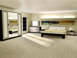 Луксозен спален комплект Бела