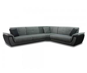 Ъглов диван Калифорния с два подлакътника - функция сън и две ракли