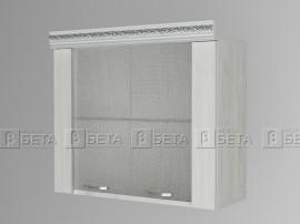 Горен кухненски шкаф Тоскана Г 8 с две витрини - 80 см.