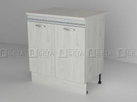 Долен кухненски шкаф Тоскана Д 6 с две врати - 80 см. - до изчерпване
