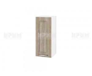 Горен шкаф за кухня Сити БФ-Сонома-02-1 МДФ - 30 см.