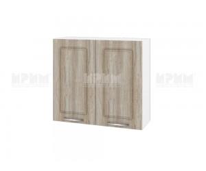 Горен шкаф за кухня Сити БФ-Сонома-02-4 МДФ - 80 см.