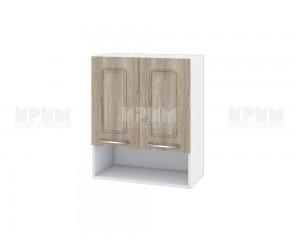 Горен шкаф за кухня Сити БФ-Сонома-02-7 МДФ - 60 см.