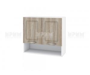 Горен шкаф за кухня Сити БФ-Сонома-02-8 МДФ - 80 см.