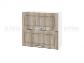 Горен шкаф за кухня Сити БФ-Сонома-02-12 МДФ - 80 см.