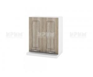 Горен кухненски шкаф за аспиратор Сити БФ-Сонома-02-13 МДФ - 60 см.