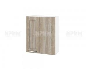 Горен кухненски шкаф за ъгъл Сити БФ-Сонома-02-17 МДФ - 60 см.