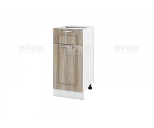 Долен шкаф за кухня Сити БФ-Сонома-02-74 ляв МДФ - 40 см.