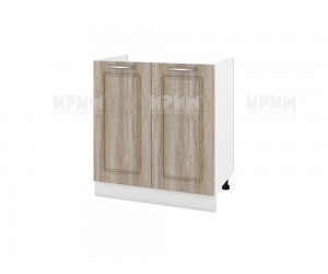 Кухненски долен шкаф за бордова мивка Сити БФ-Сонома-02-30 МДФ - 80 см.