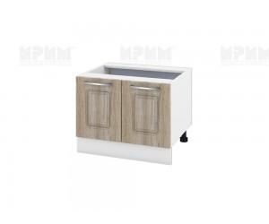Долен кухненски шкаф за печка тип Раховец Сити БФ-Сонома-02-32 МДФ - 60 см.