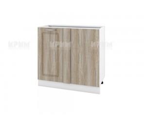 Долен кухненски шкаф за ъгъл Сити БФ-Сонома-02-42 МДФ - 90 см.