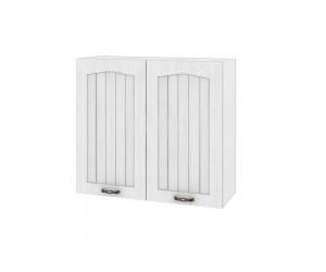 Горен шкаф за кухня Сити БФ-Бяло фладер-04-4 МДФ - 80 см.