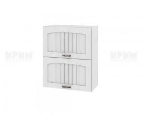 Горен шкаф за кухня Сити БФ-Бяло фладер-04-11 МДФ - 60 см.