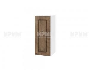 Горен шкаф за кухня Сити БФ-Дъб натурал-06-1 МДФ - 30 см.