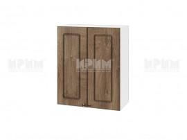 Горен шкаф за кухня Сити БФ-Дъб натурал-06-3 МДФ - 60 см.
