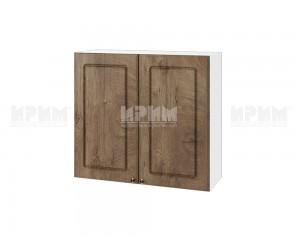 Горен шкаф за кухня Сити БФ-Дъб натурал-06-4 МДФ - 80 см.