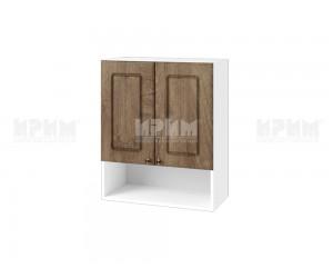 Горен шкаф за кухня Сити БФ-Дъб натурал-06-7 МДФ - 60 см.