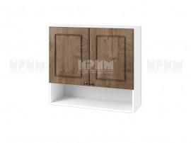 Горен шкаф за кухня Сити БФ-Дъб натурал-06-8 МДФ - 80 см.