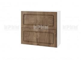 Горен шкаф за кухня Сити БФ-Дъб натурал-06-12