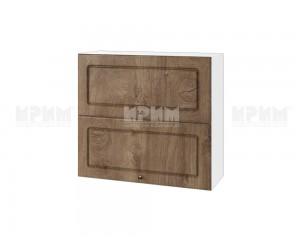 Горен шкаф за кухня Сити БФ-Дъб натурал-06-12 МДФ - 80 см.