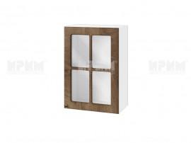 Горен шкаф за кухня Сити БФ-Дъб натурал-06-118