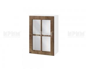 Горен шкаф за кухня Сити БФ-Дъб натурал-06-118 МДФ - 50 см.