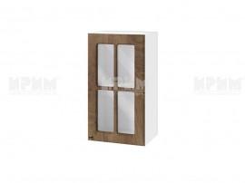 Горен шкаф за кухня Сити БФ-Дъб натурал-06-102 МДФ - 40 см.