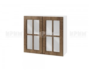 Горен шкаф за кухня Сити БФ-Дъб натурал-06-104 МДФ - 80 см.