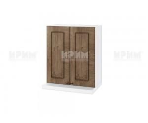 Горен кухненски шкаф за аспиратор Сити БФ-Дъб натурал-06-13 МДФ - 60 см.