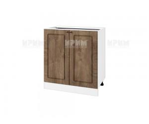 Долен шкаф за кухня Сити БФ-Дъб натурал-06-23 МДФ - 80 см.