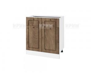 Долен шкаф за кухня Сити БФ-Дъб натурал-06-26 МДФ - 80 см.