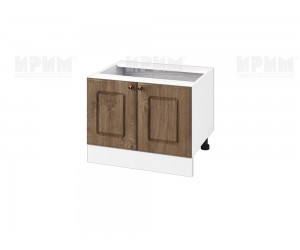Кухненски долен шкаф за печка тип Раховец Сити БФ-Дъб натурал-06-32 МДФ - 60 см.