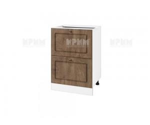 Долен шкаф за кухня Сити БФ-Дъб натурал-06-44 МДФ - 60 см.