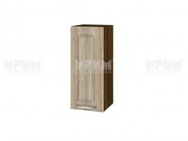 Горен шкаф за кухня Сити ВФ-Сонома-02-1 МДФ - 30 см.