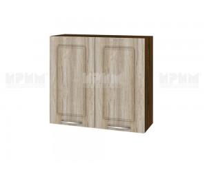 Горен шкаф за кухня Сити ВФ-Сонома-02-4 МДФ - 80 см.