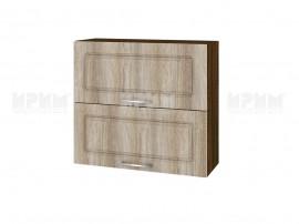 Горен шкаф за кухня Сити ВФ-Сонома-02-12 МДФ - 80 см.