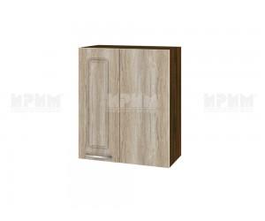 Горен кухненски шкаф за ъгъл Сити ВФ-Сонома-02-17 МДФ - 60 см.