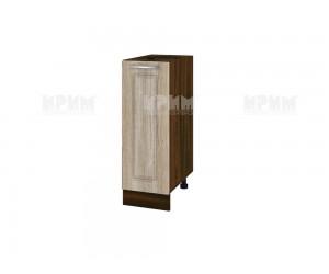 Долен шкаф за кухня Сити ВФ-Сонома-02-20 МДФ - 30 см.