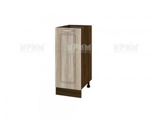 Долен шкаф за кухня Сити ВФ-Сонома-02-21 МДФ - 40 см.