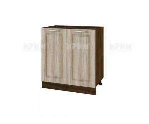 Долен шкаф за кухня Сити ВФ-Сонома-02-23 МДФ - 80 см.