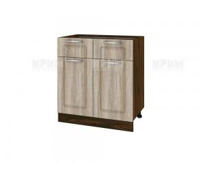 Долен шкаф за кухня Сити ВФ-Сонома-02-26 МДФ - 80 см.