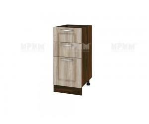 Долен шкаф за кухня Сити ВФ-Сонома-02-27 десен МДФ - 40 см.