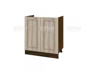 Кухненски долен шкаф за бордова мивка Сити ВФ-Сонома-02-30 МДФ - 80 см.
