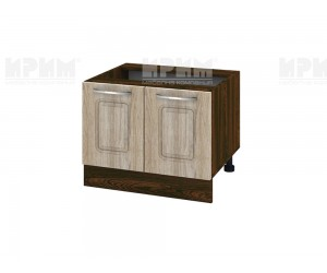 Кухненски долен шкаф за печка тип Раховец Сити ВФ-Сонома-02-32 МДФ - 60 см.