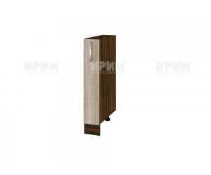 Долен шкаф-бутилиера за кухня Сити ВФ-Сонома-02-41 МДФ - 15 см.