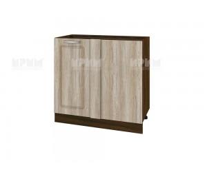 Долен кухненски шкаф за ъгъл Сити ВФ-Сонома-02-42 МДФ - 90 см.
